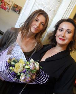 Благодарные слушатели. Смирнова Елена и Неля Переверзева