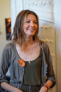 Елена Смирнова также представила свои фотоработы вместе с учениками.